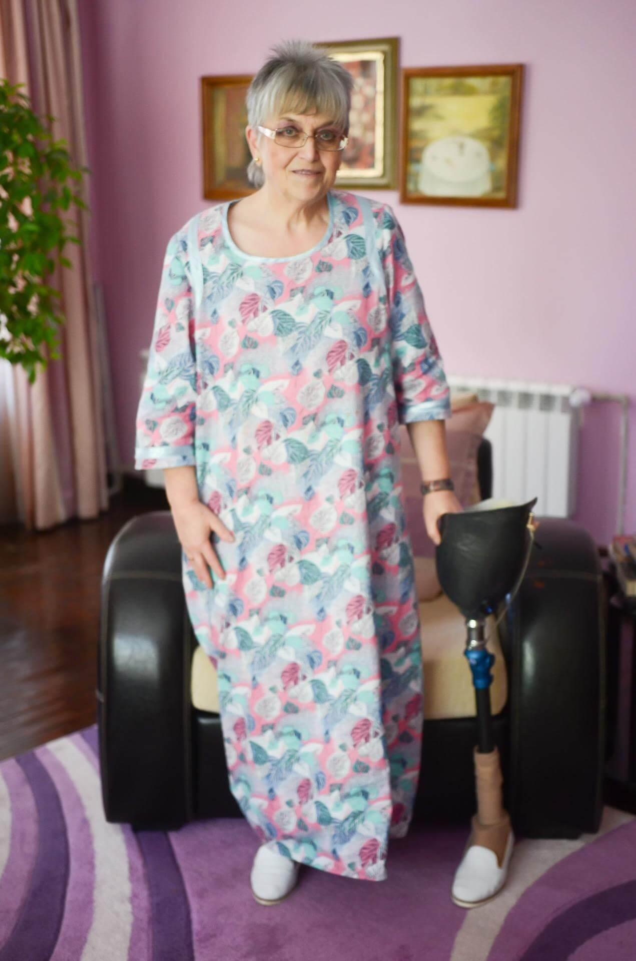бедренна протеза за крак - Ортомедикс