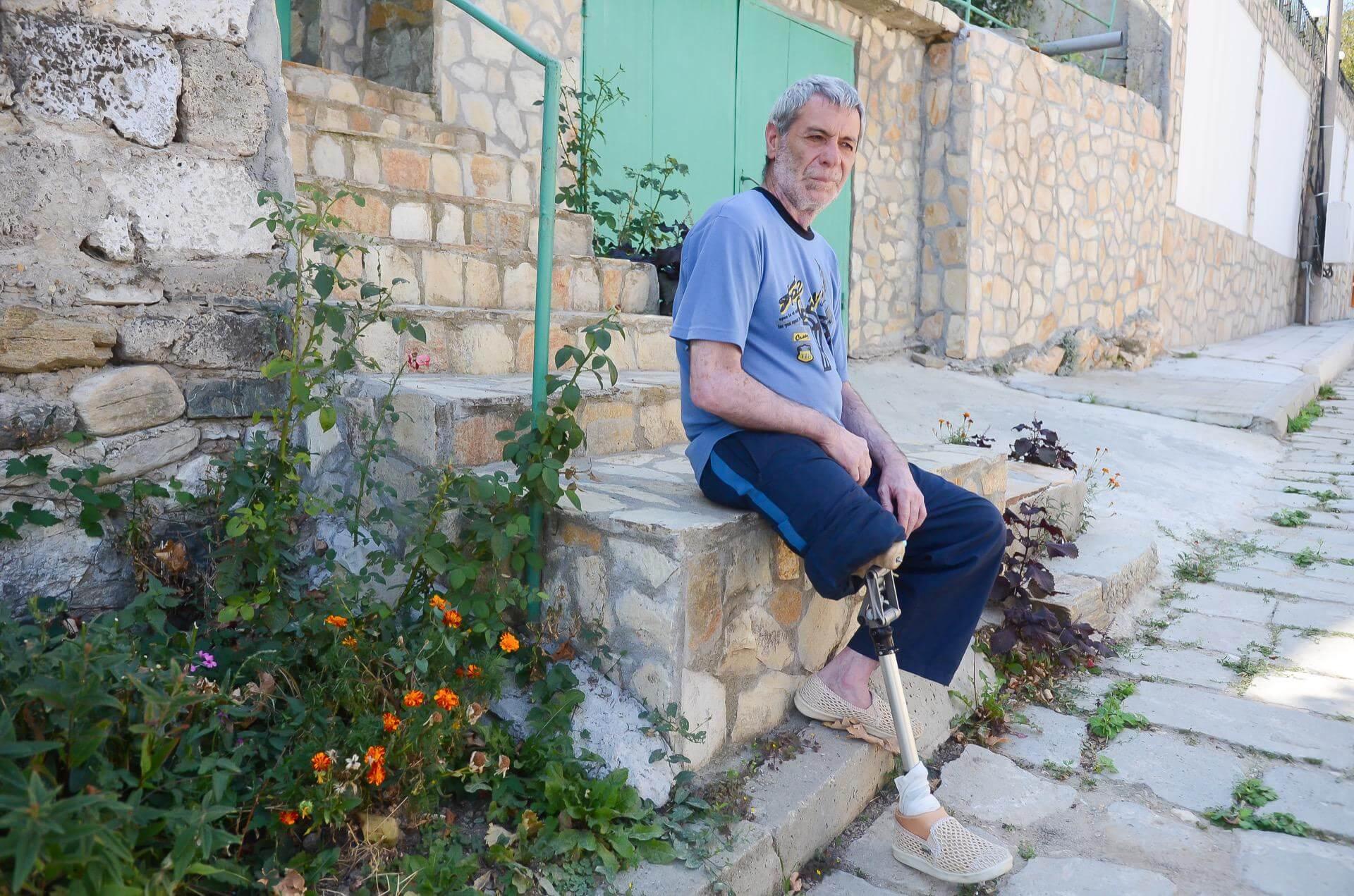 Протеза за долен крайник от Ортомедикс
