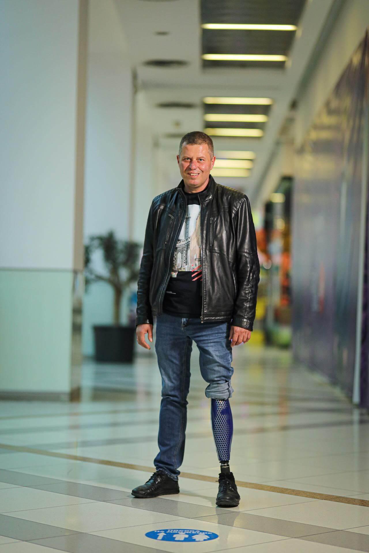 Протези за крака - Димитър 19 - Ortomedics