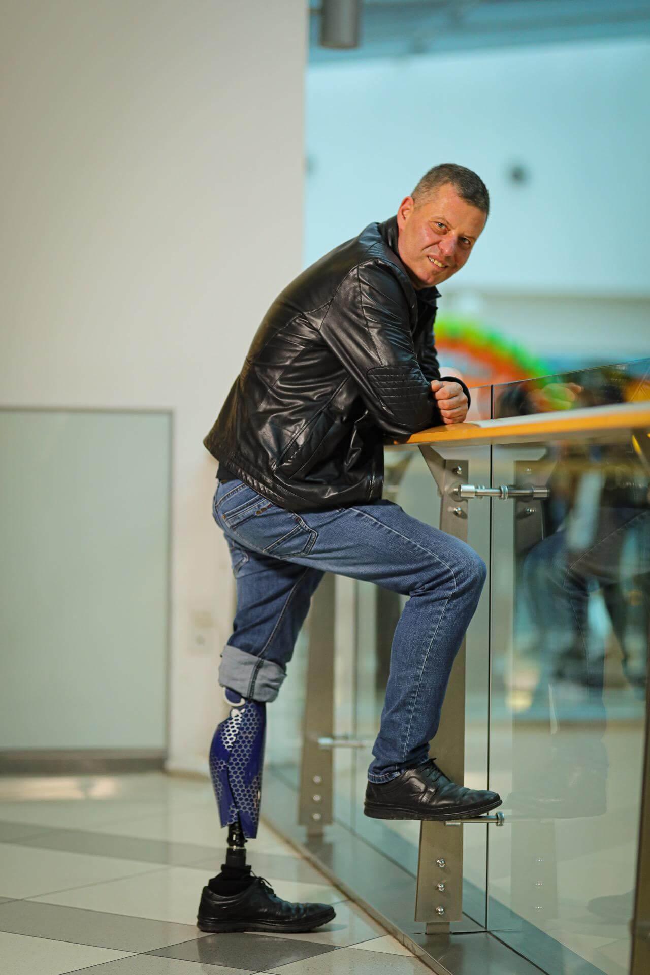 Протези за крака - Димитър 3 - Ortomedics